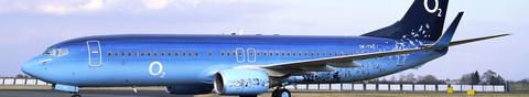 O2 Flugzeug