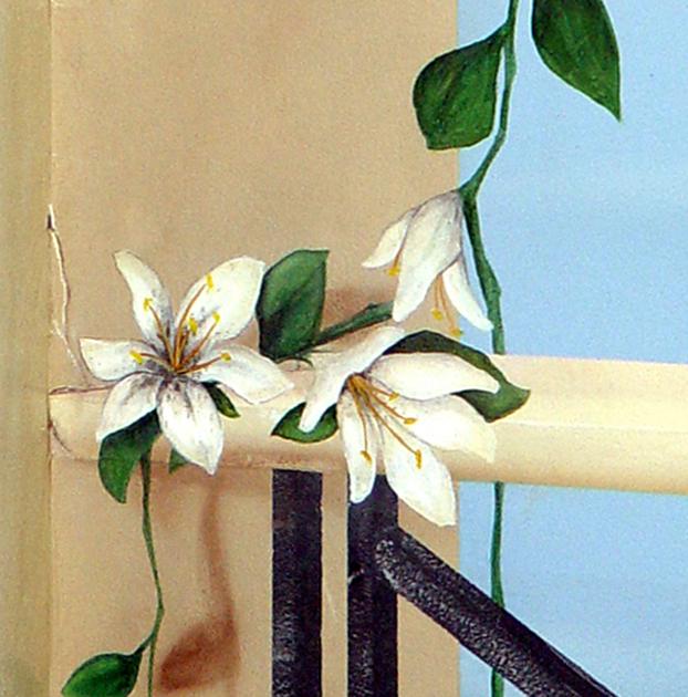 Wandmalerei, Wandbemalung, Wandgemälde, Wandkunst, , Wandbild,  Illusionsmalerei, 3D Malerei,