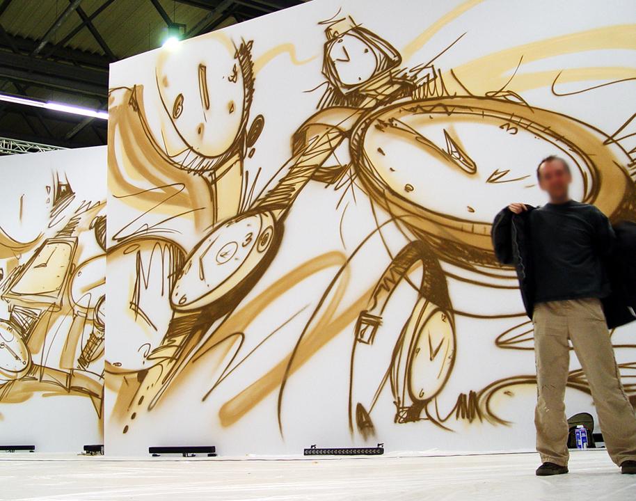 AuBergewohnlich Wandmalerei, Wandbemalung, Wandgemälde, Wandbild, Freienhaus, Bemalung,  Lanschaftsmalerei, Landschaftsbilder,