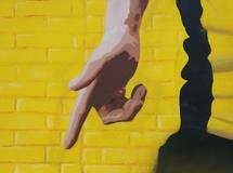 Wandmalerei, Wandbemalung, Wandgemälde, Wandbild, Fassadenmalerei, Fassaden, Bilder, Fassaden, Gestaltung, Street Art, Graffiti, BVB, Champions League 2013, Marco Reus, Borussia, PUMA, smart art, Airbrusher Martin Dippel, Dortmund